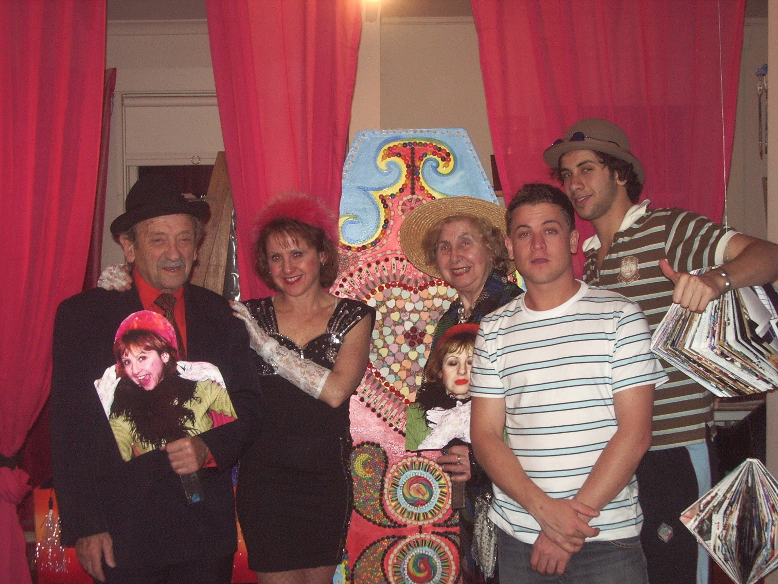 The Cabaret Gang  Adolek, Jane, Mary