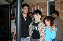 Vik, me and Som Chai