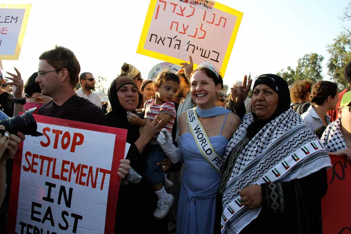 Miss World Peace in the Middle East