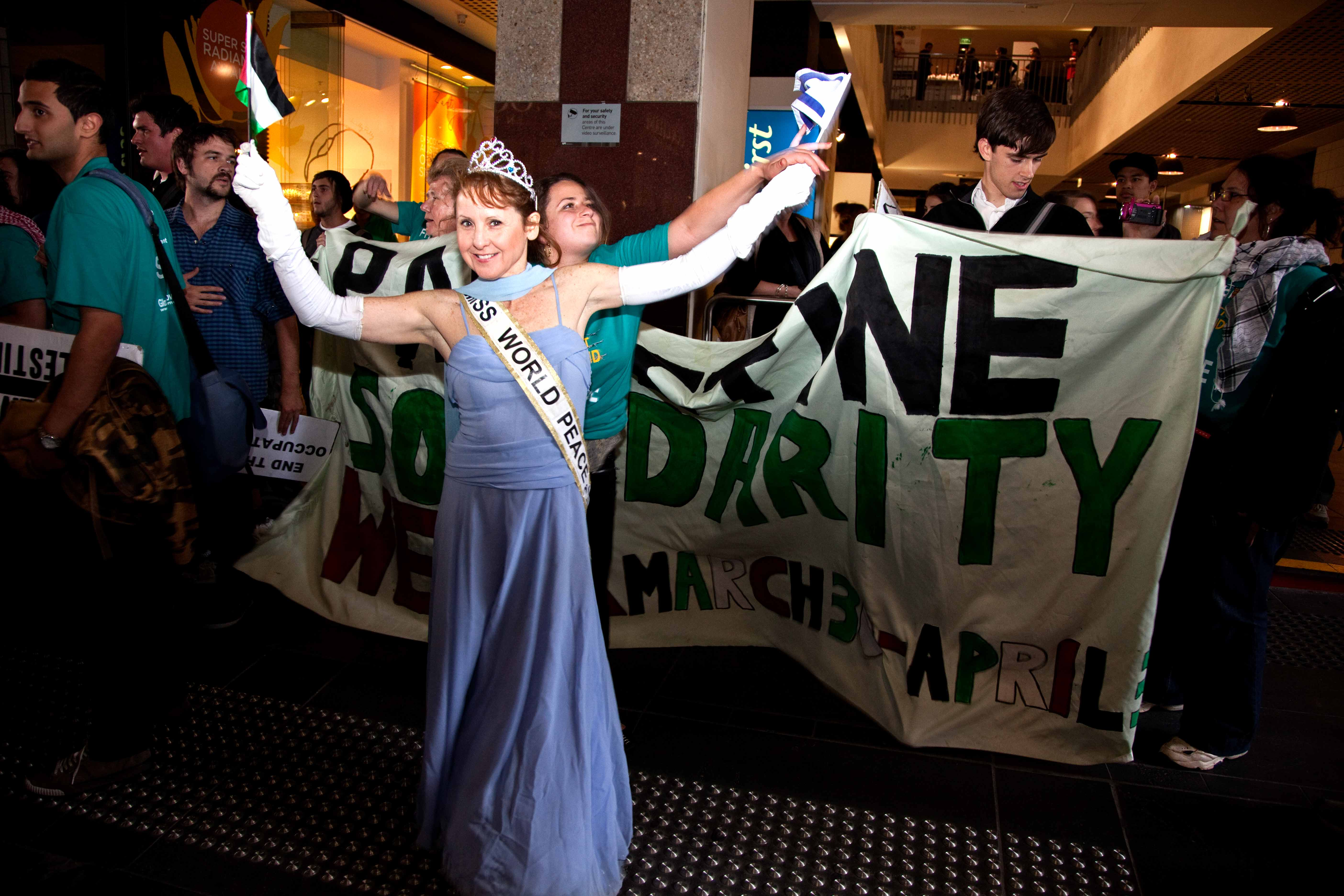 Miss World Peace in Melbourne