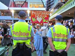 Disrupting an Anti-Israel Rally Smal