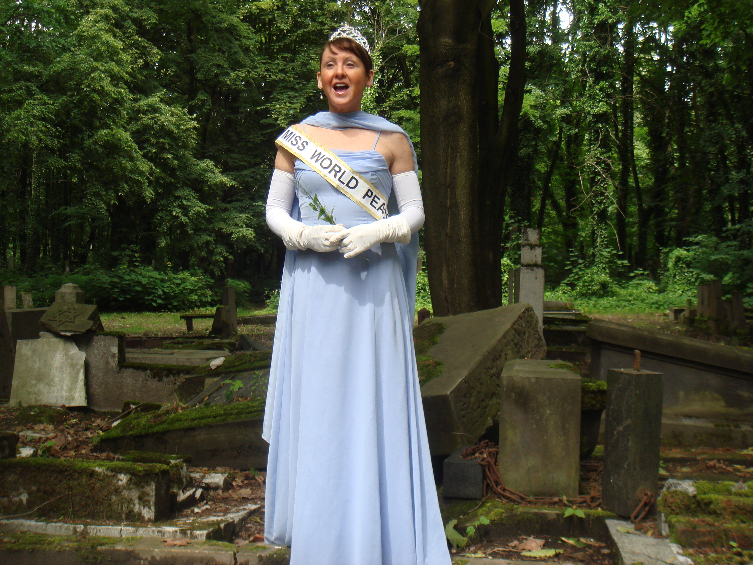 Miss World Peace in Poland