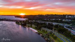 Kings Park Sunset