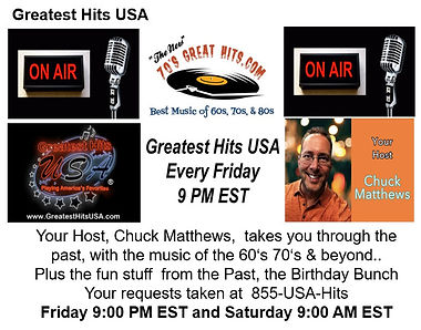 Greatest Hits USA With Chuck Matthews