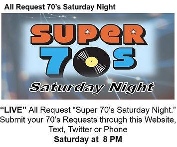 70s All Request Saturday Night