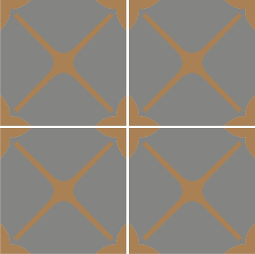 Moroccan Agadir Vinyl Tile Sticker Pack In Ash Peel N 39