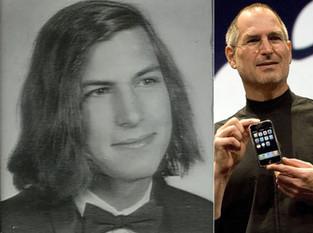 Steve Jobs trabalhando na Atari