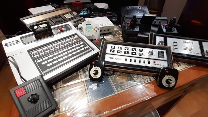 Conheça nossa coleção de Videogames antigos