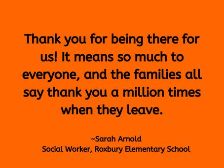 Social Worker Roxbury Elementary