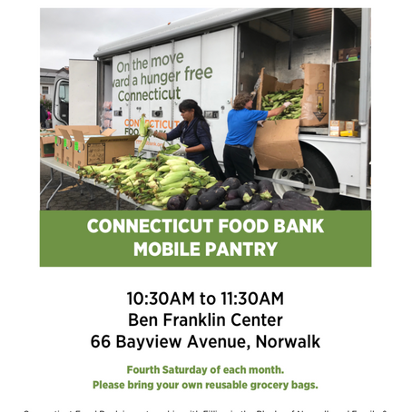 Mobile Food Pantry Flyer