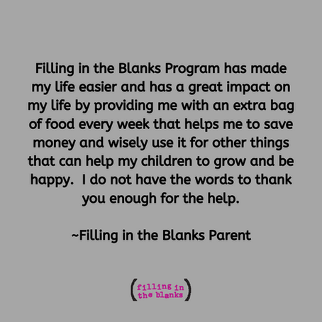 Filling in the Blanks Parent