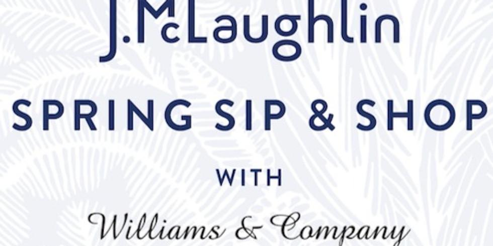 J. McLaughlin-Spring Sip & Shop