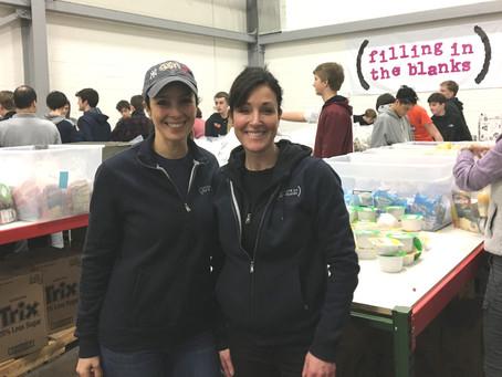 150 volunteers pack weekend meals for kids By New Canaan Advertiser on February 22, 2018