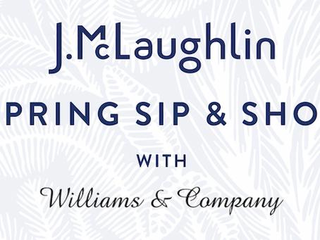 J.McLaughlin Spring Sip & Shop