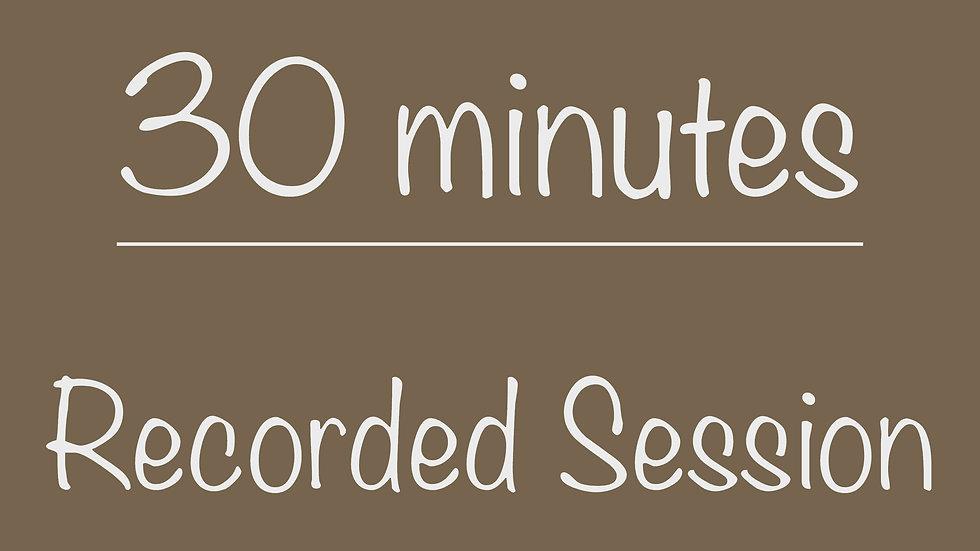 Scouts 30-minute Recorded Virtual Program