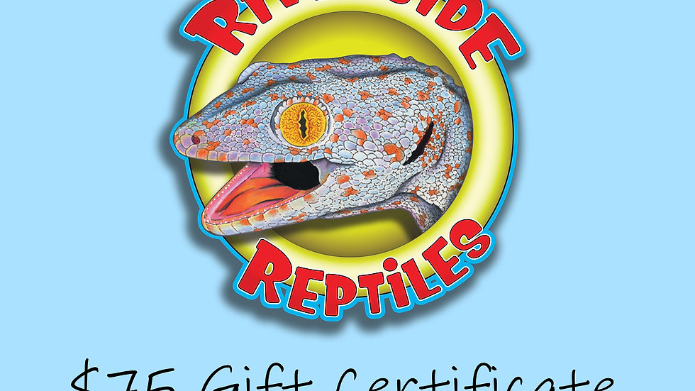 $75 Dollar Gift Certificate