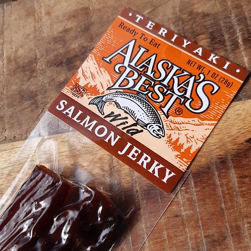 Salmon Jerky, Teryaki