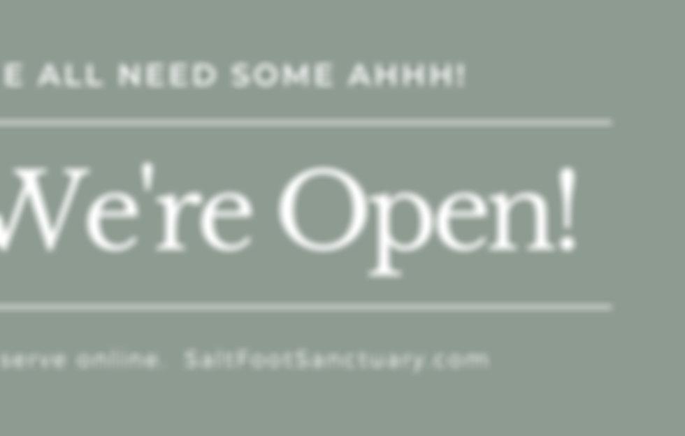 Banner SFS & Massage %22We're open%22 .j