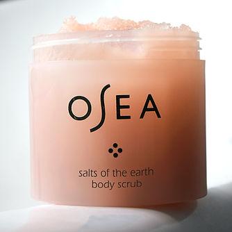 OSEA Salts of the Earth Body Scrub 12oz 675468000345 bathtub ledge ladder 1.jpg