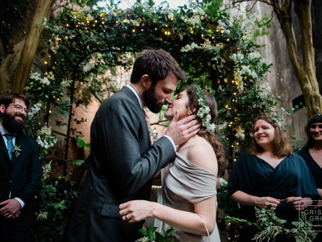 Racheal and Michael's Courtyard Wedding
