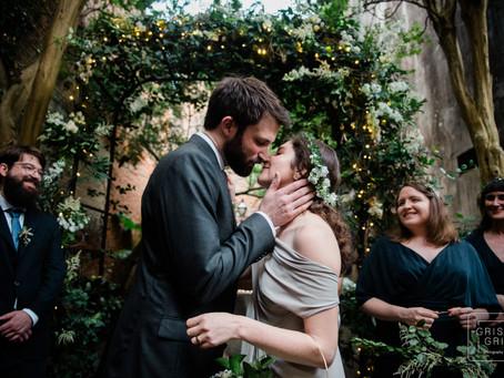 Racheal and Michael's Courtyard Wedding