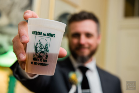 mardi gras cup for nola wedding