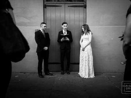Kelsey and John's French Quarter Wedding