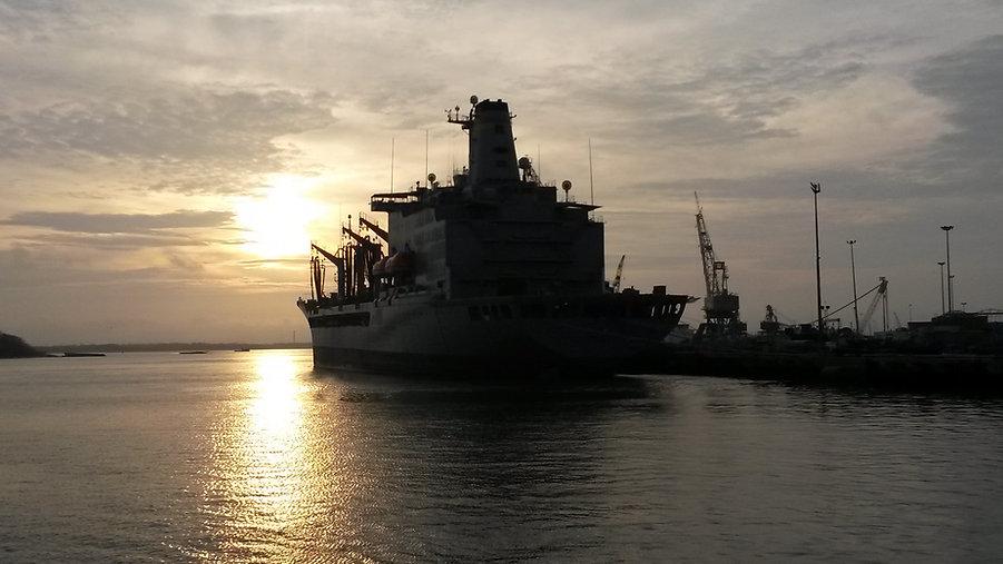 ShipCranesDockSunset.jpg