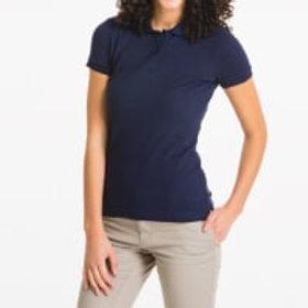 Lee Ladies Adult Short Sleeve Polo Pique  Navy