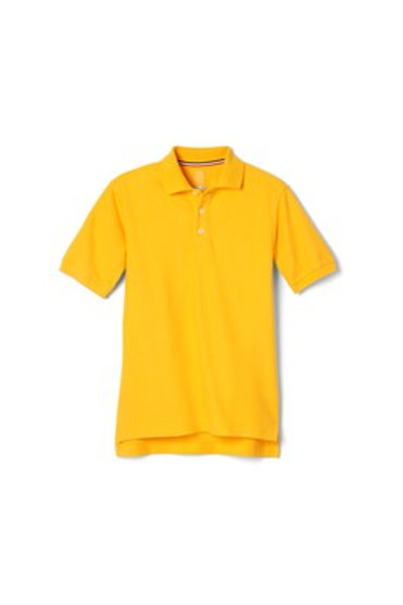 Pique Polo French Toast Short Sleeve