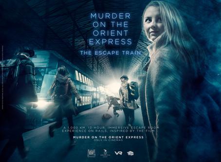 13 tunnin teatterielämys, 1000 kilometriä arvoituksia, liikkuvassa junassa! InsideOut Escape Games e