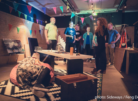 Customized festival gameformance at Sideways Festival!