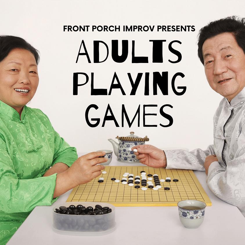 Adults Playing Games | FREE Board Game Fun - Saturday @ 6pm