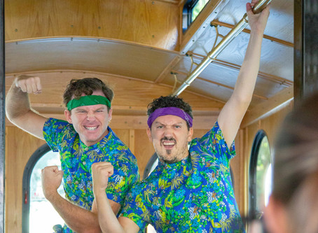 Introducing a new COMEDY TROLLEY TOUR