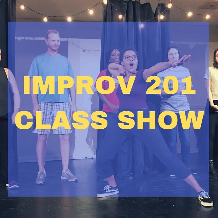 Improv 201   Class Show   Wednesday