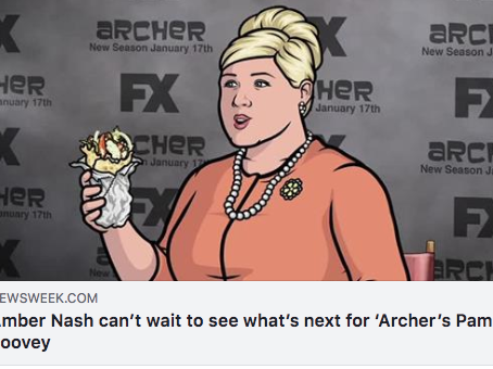 'ARCHER' STAR AMBER NASH is coming to Front Porch Improv