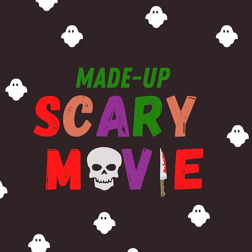 Front Porch Improv: Made-Up Scary Movie | Saturday at 8pm