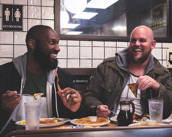 Late Night Snacks stars Jordn Edwards and Josh Christian