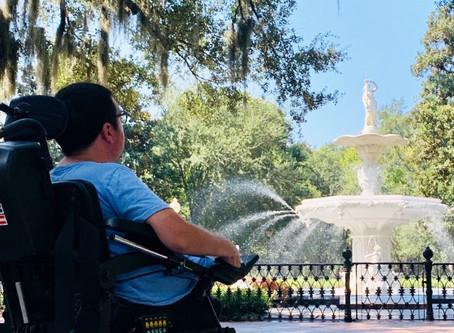 Wheelchair Accessible, a Savannah Travel Guide