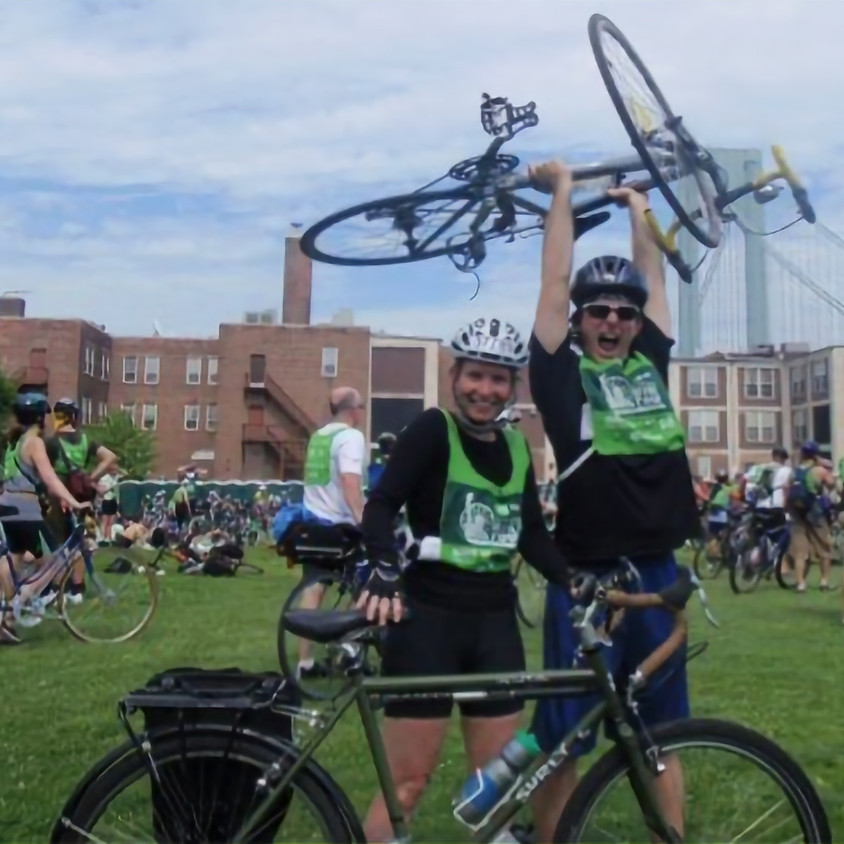 Bicycling Fundraiser for Air Conditioning & Heat!