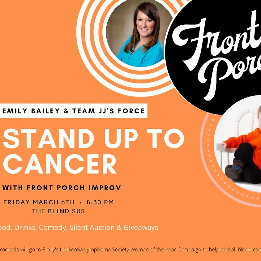 OFF SITE: Help Emily Bailey Stand Up (Comedy) to Cancer at Blind Sus Bar