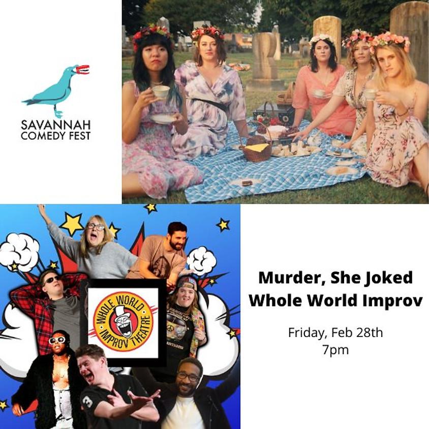 SAV Comedy Fest | Friday @ 7pm