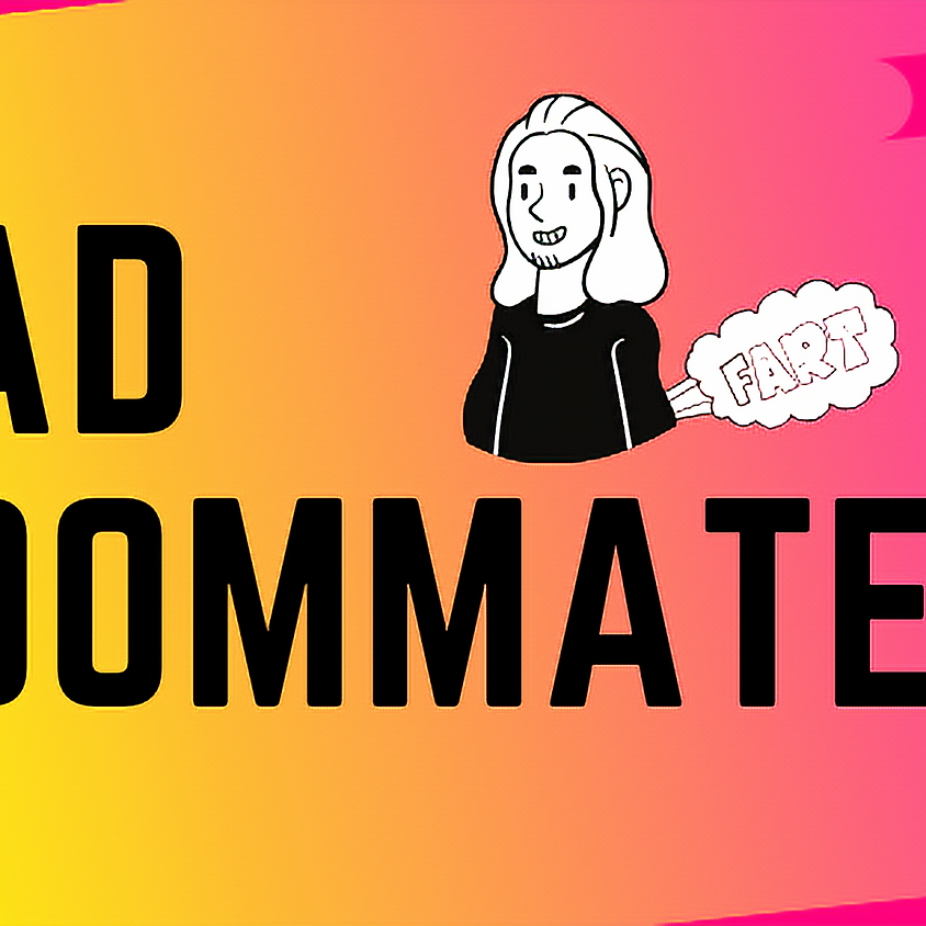 Bad Roommate: Improv Comedy   LIVE ONLINE SHOW