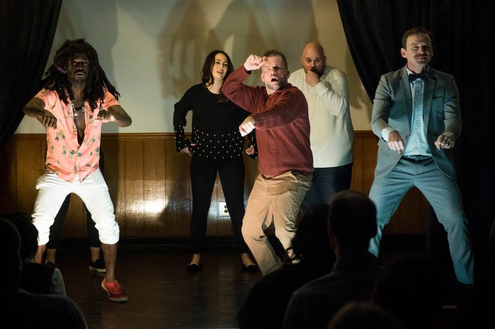Improv Comedy Scene