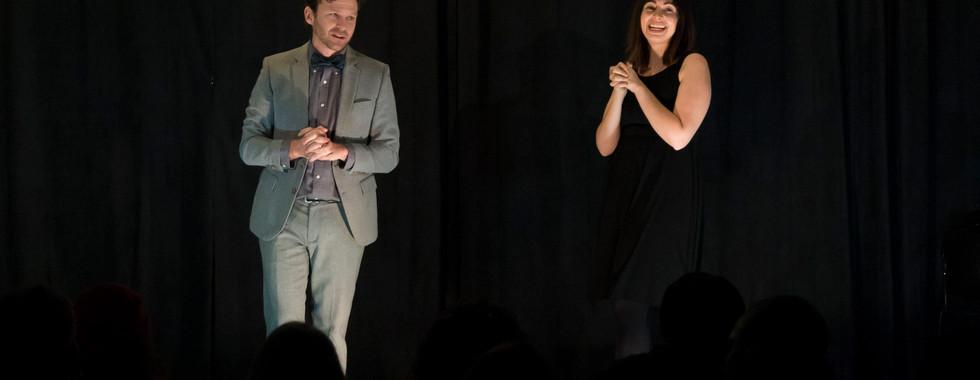 Hosts - John & Brianne