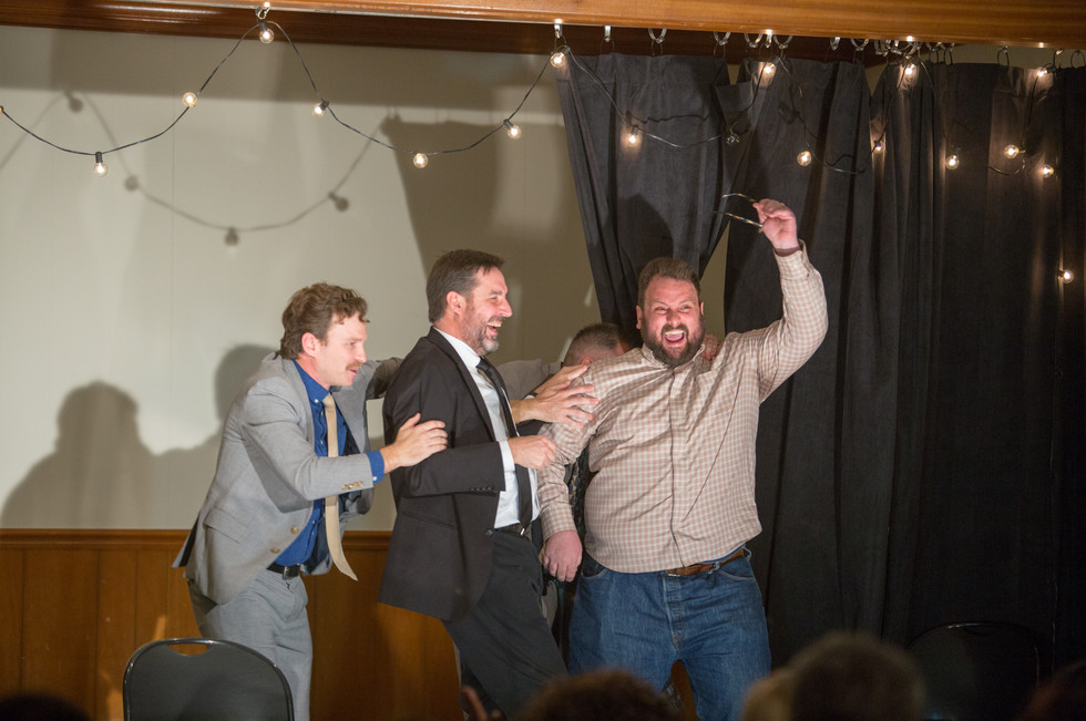 Front Porch Improv - New Year Eve Scene - with special guest, Will Nunziata (Comedy Central, Adult Swim, Spike TV)