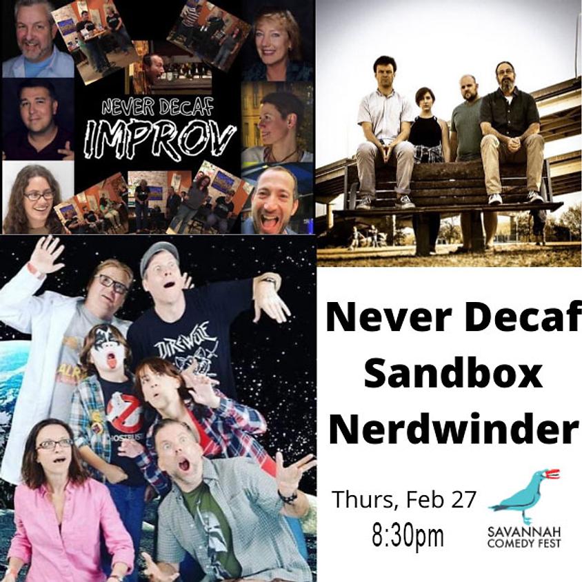 SAV Comedy Fest   Thurs @ 8:30pm