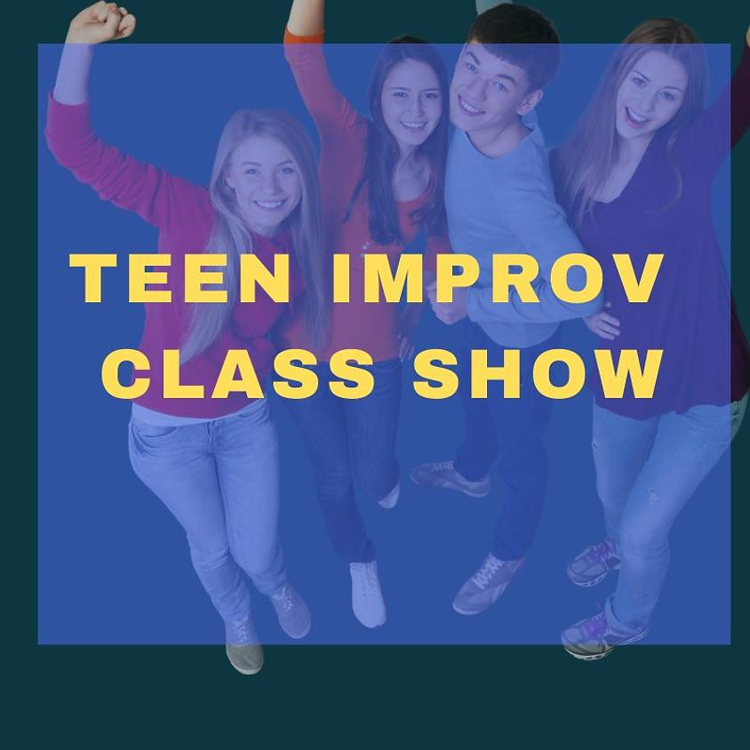 Improv for Teens | Class Show | Saturday