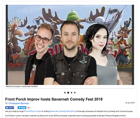 Fest overview from Savannah Morning News