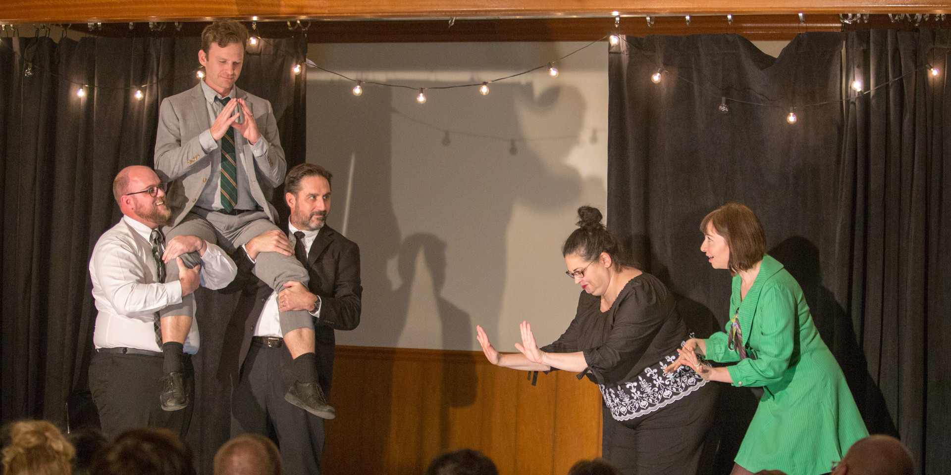 Funny things happen at Front Porch Improv